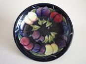 William Moorcroft 'Wisteria' Plate c1920